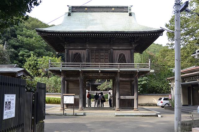 国分寺楼門