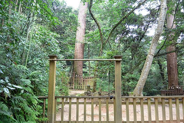 八重垣神社・奥の院