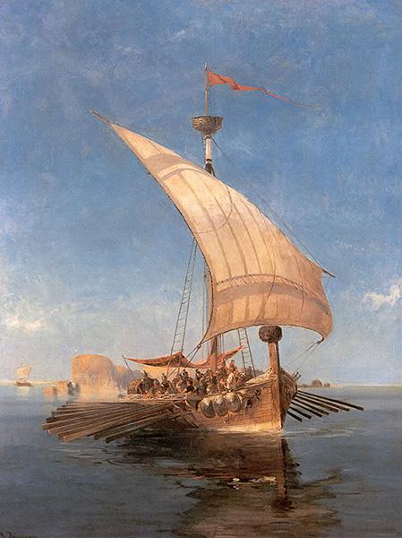 ギリシャ神話のアルゴー船