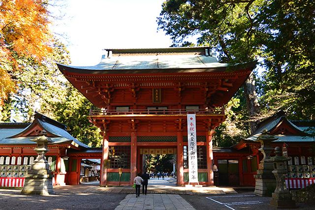 鹿島神宮・楼門(日本三大楼門)