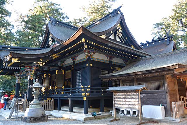 香取神宮・拝殿