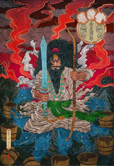 須佐神社ご祭神はスサノヲノミコト